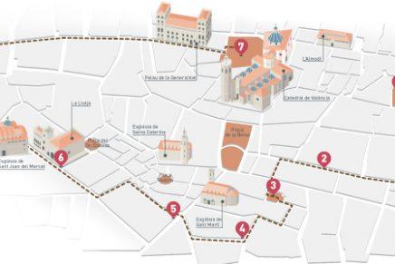 Ruta filosòfica 'A través de València en companyia de Joan Lluís Vives i Francesc J. Hernàndez' | Activitat sufragada per l'Agència Valenciana del Turisme