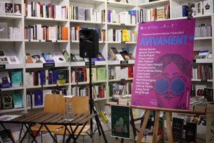 Fotos presentación #Avivament2018 el sábado 10 de marzo en la Llibreria Ramon Llull