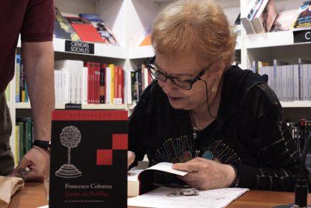 Fotos El sueño de Polifilo, a cargo de Pilar Pedraza | Librería Ramon Llull, 8 junio 2018 #Avivament2018