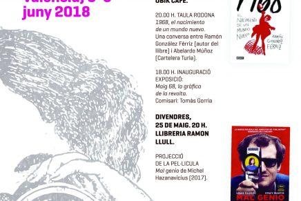 #50añosdeMayodel68 en Valencia | 24 y 25 mayo 2018