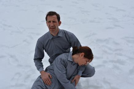 Ícar ocult darrere del girasol, sobre l'obra de teatre Ícar | VP-2018-03