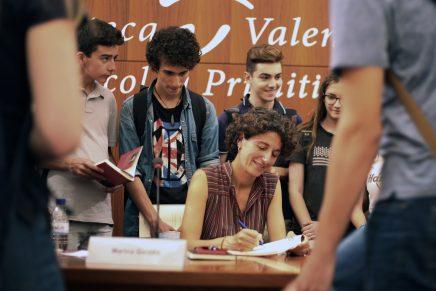 Fotos Trobada IES amb Marina Garcés | Biblioteca Valenciana, 8 juny 2018 #Avivament2018